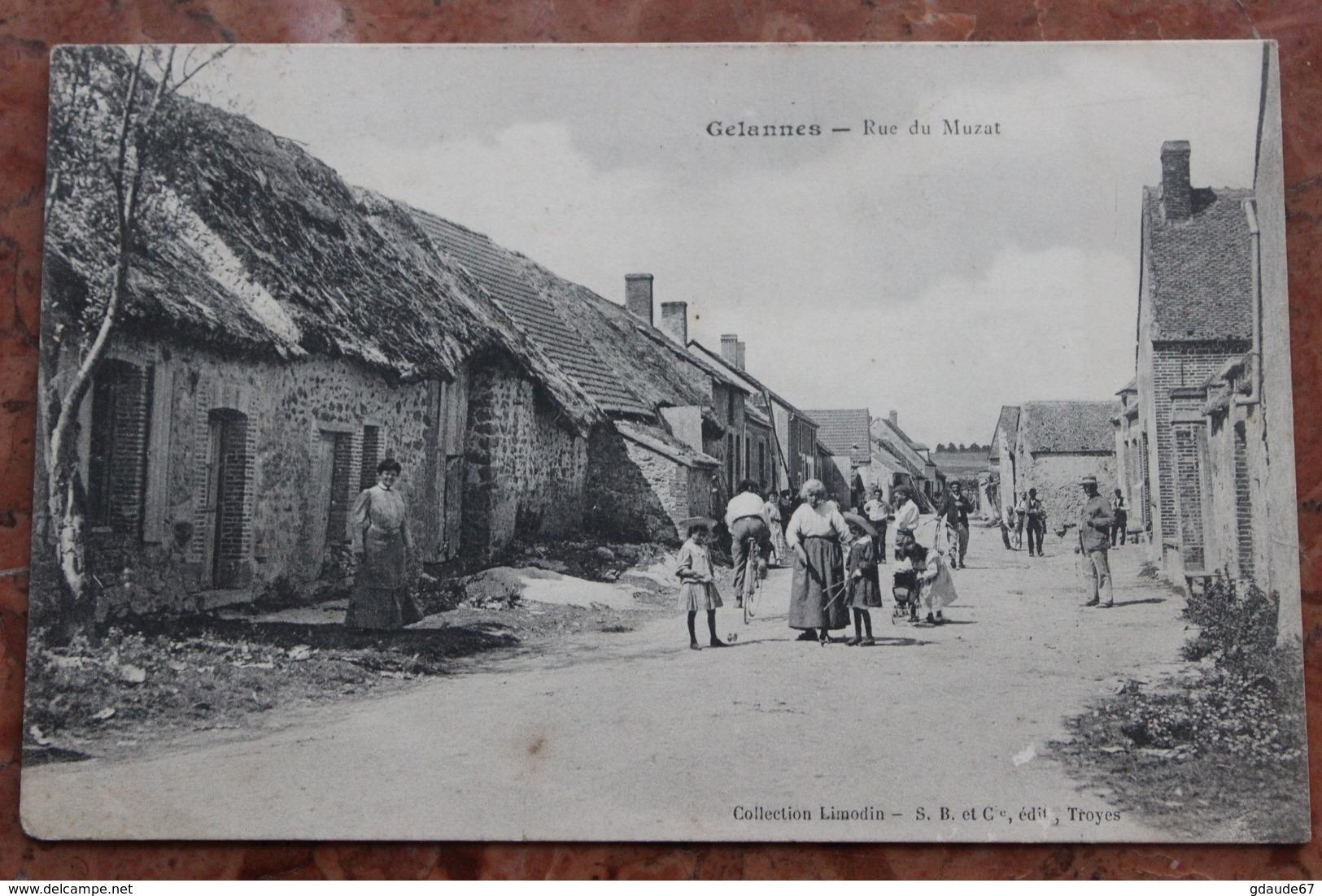 GELANNES (10) - RUE DU MUZAT - France