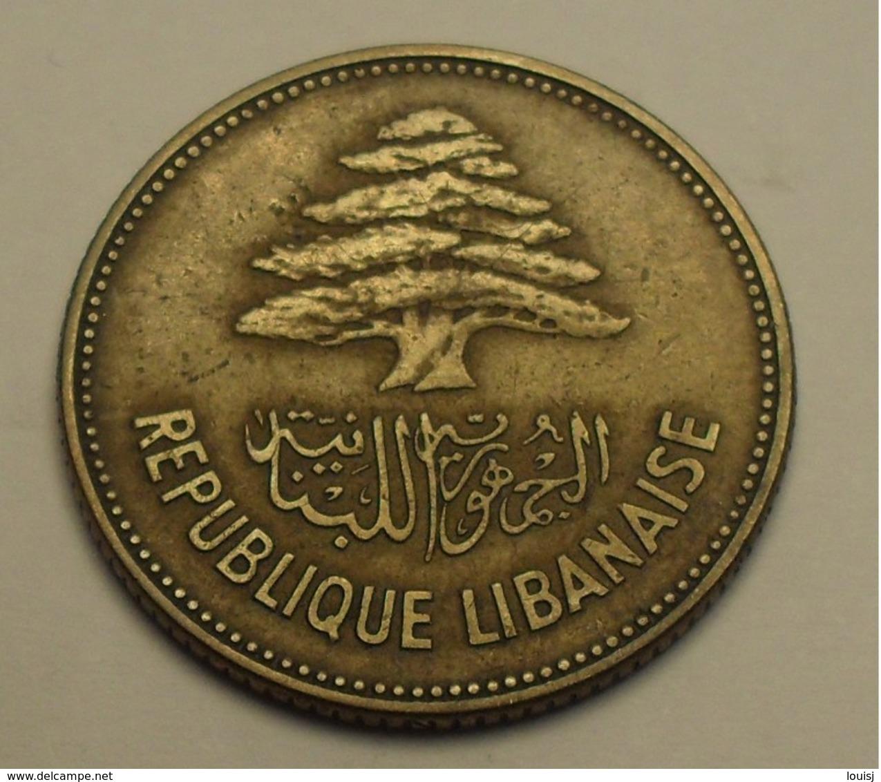 1952 - Liban - Lebanon - 25 PIASTRES - KM 16.1 - Liban