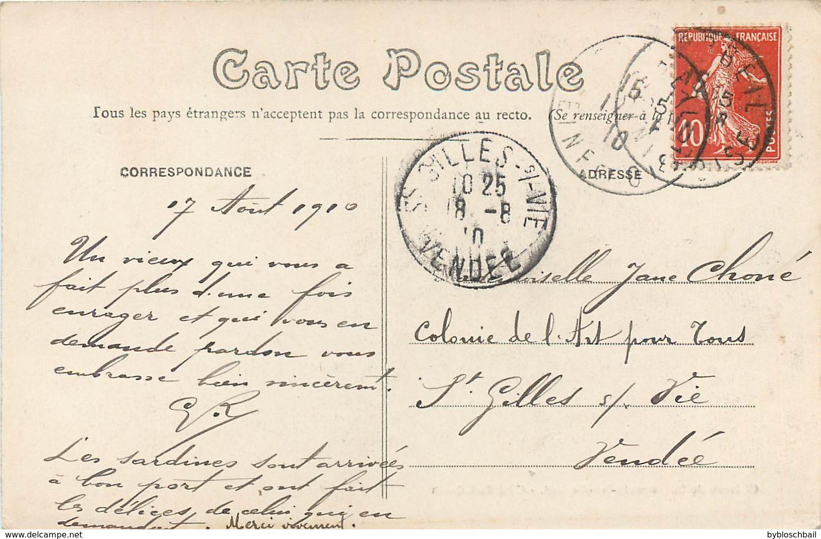 CPA 91 Essone Chateau De Saint Germain Les (Lez) Corbeil - Côté Sud Ouest - 1910 - France