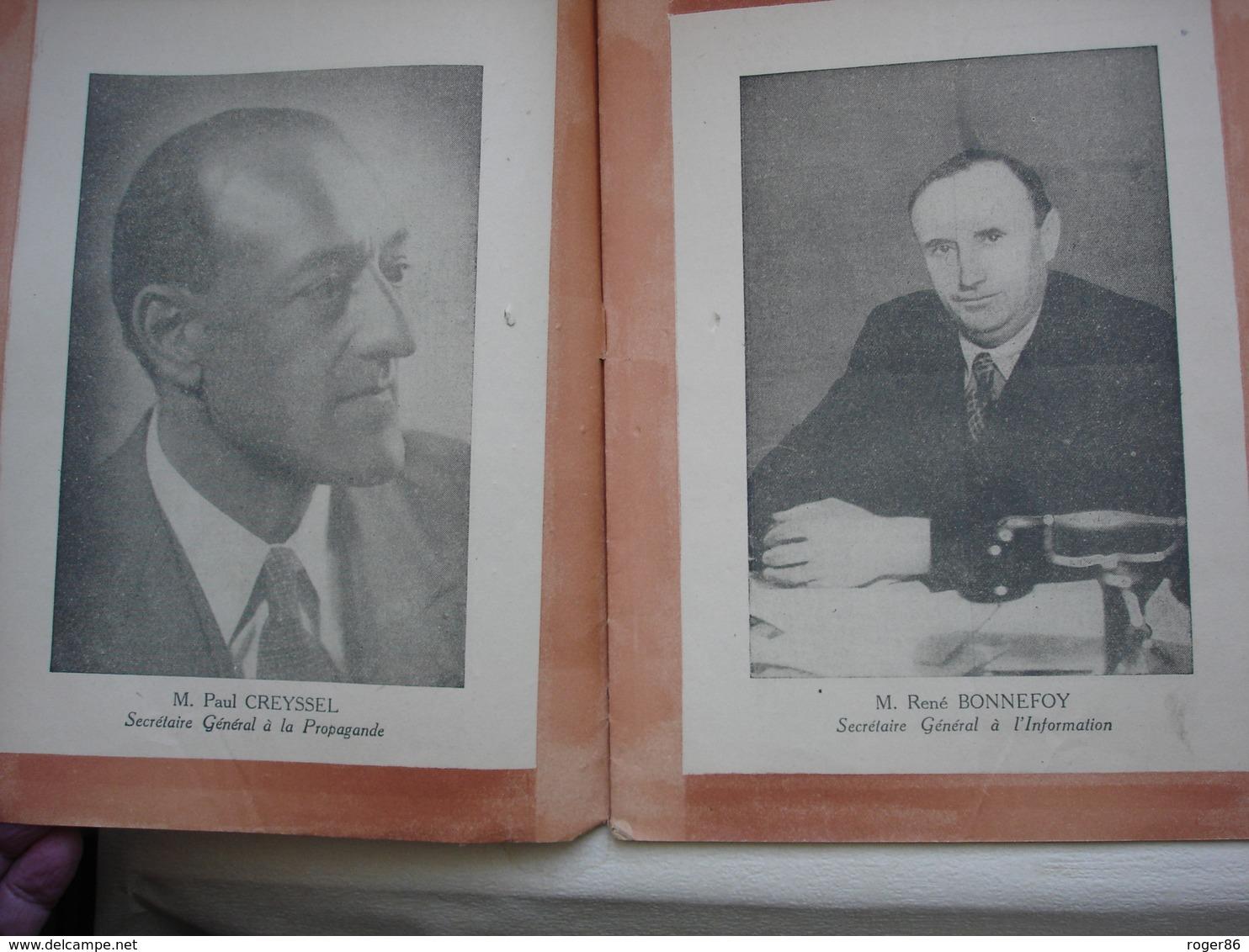 Militaria Deuxieme Guerre Mondiale WW2 Revue L'ESPOIR FRANCAIS 1943 Propagande Collaboration - 1939-45