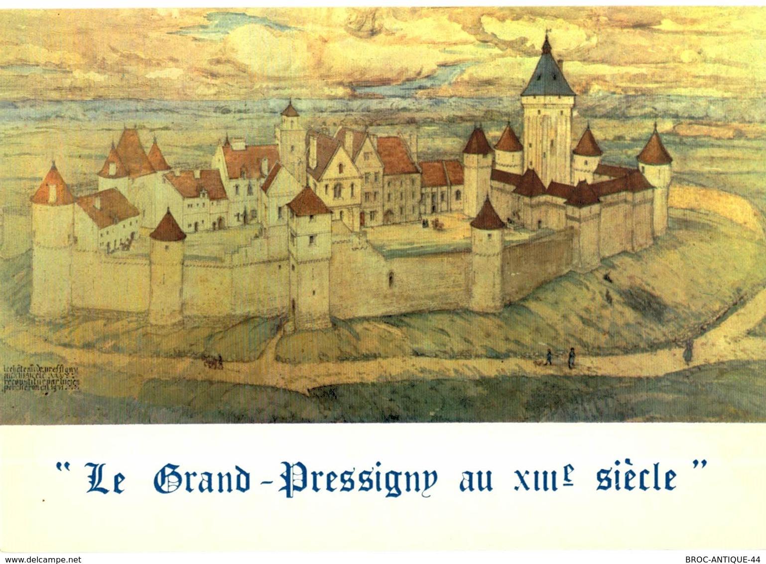CPM* N°955 - LE GRAND PRESSIGNY AU XIIIe SIECLE - Le Grand-Pressigny