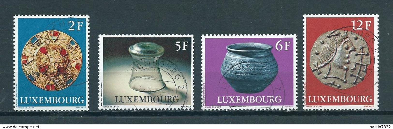 1976 Luxemburg Complete Set Art,kunst Used/gebruikt/oblitere - Gebruikt