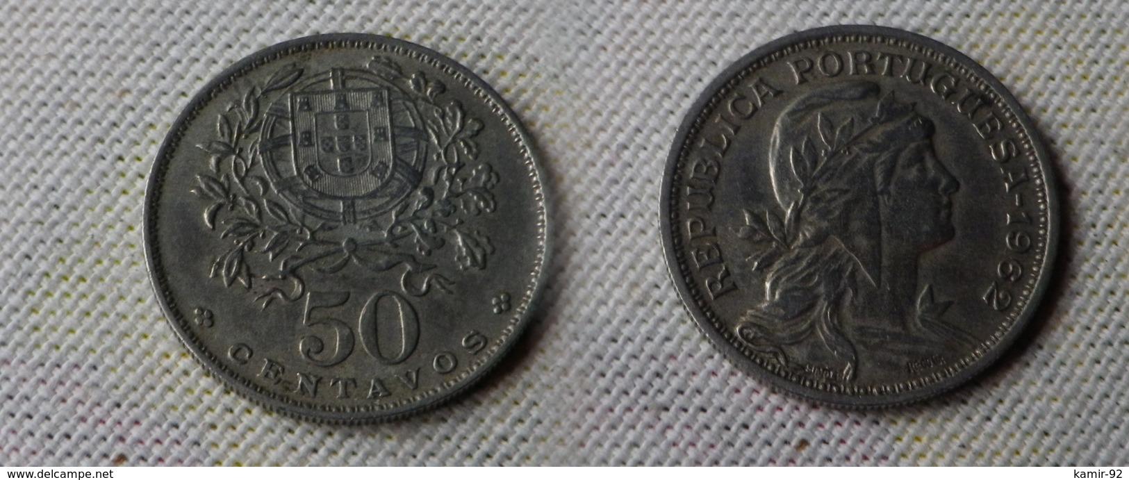 Portugal 50  Centavos 1962     Km#577  -       Ttb - Portugal