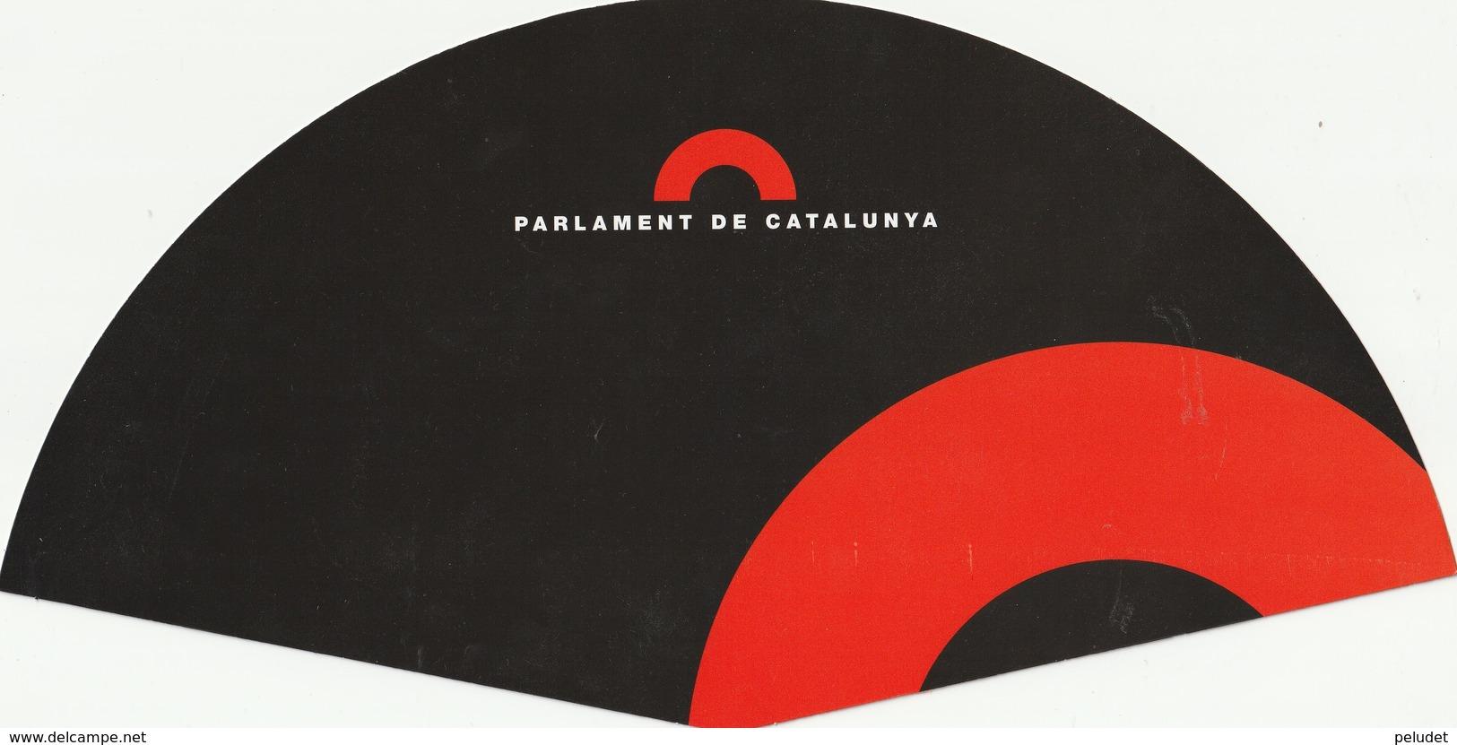Abanico - Pay Pay - éventail - PARLAMENT DE CATALUNYA - Material Y Accesorios