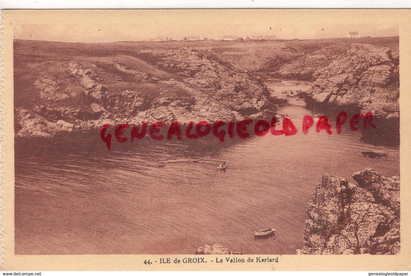 56 - ILE DE GROIX - LE VALLON DE KERLARD - Francia