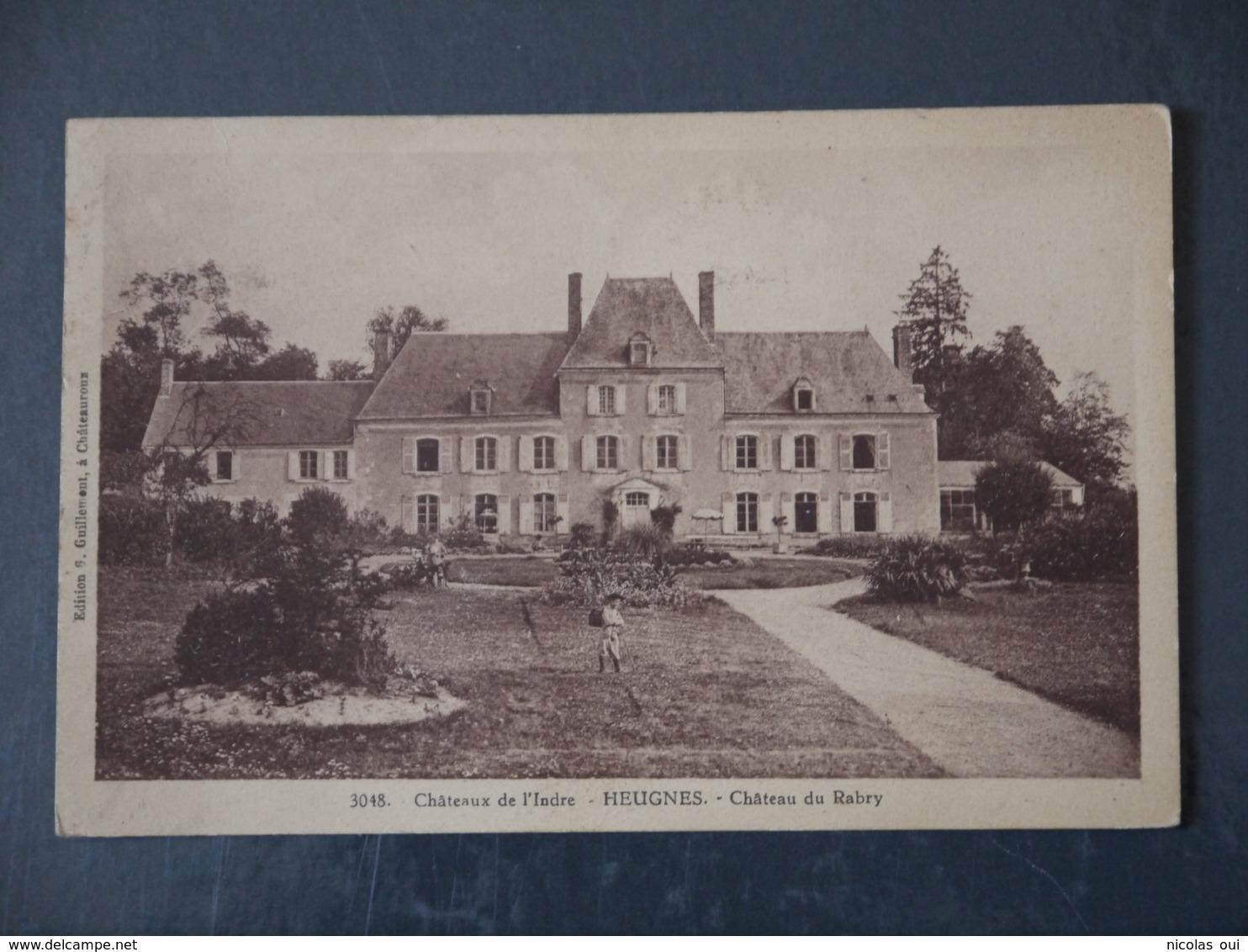 HEUGNES CHATEAU DE RABRY - France