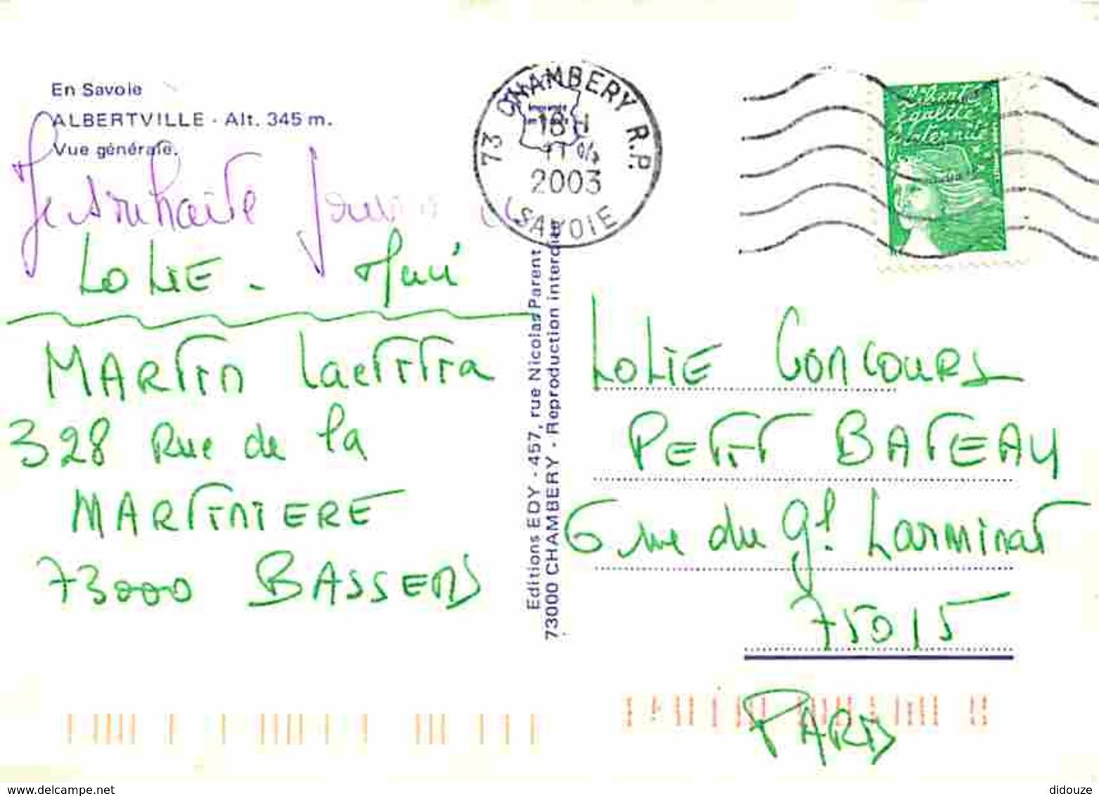 73 - Albertville - Vue Générale - Voir Scans Recto-Verso - Albertville
