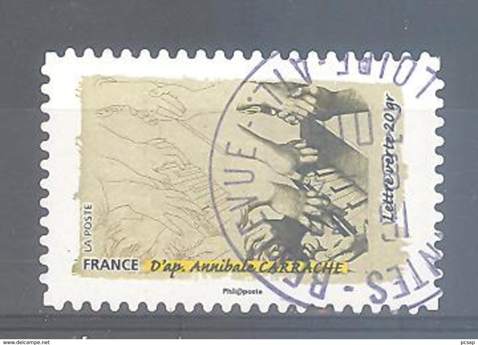 France Autoadhésif Oblitéré N°1090 (le Toucher) (cachet Rond) - France
