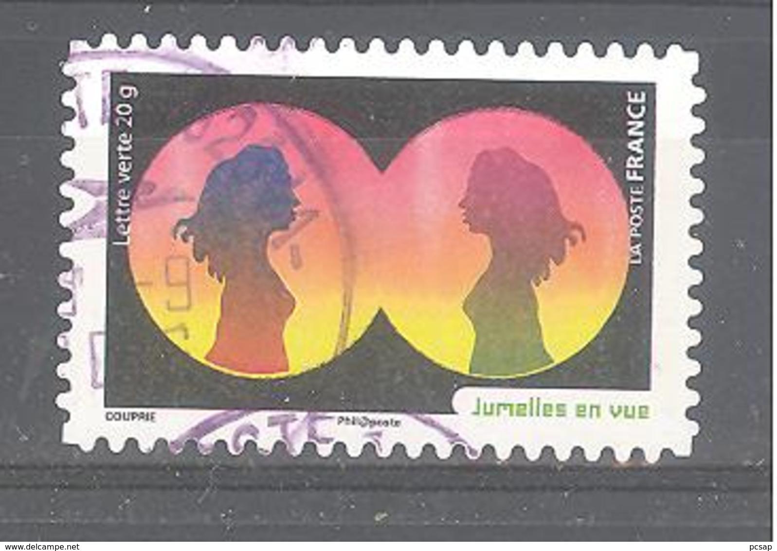 France Autoadhésif Oblitéré N°1183 (la Vue) (cachet Rond) - France