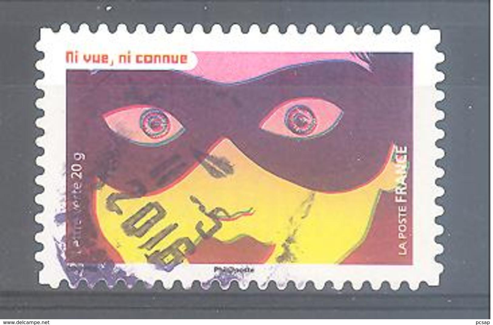 France Autoadhésif Oblitéré N°1188 (la Vue) (cachet Rond) - France