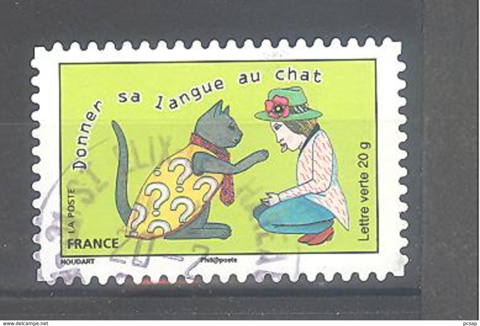 France Autoadhésif Oblitéré N°1171 (cachet Rond) - France