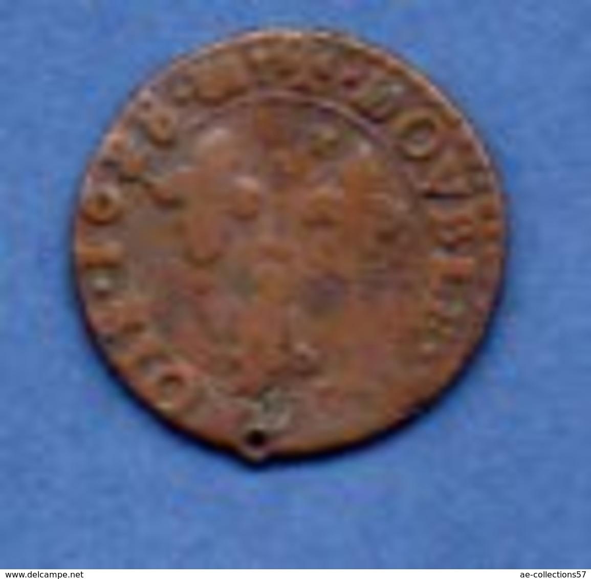Louis XIII / Double Tournois / 1628 K / B+ - 987-1789 Royal