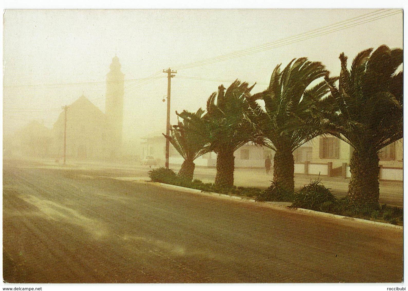 (033..322) Südwestafrika, Swakopmund, Sandsturm - Namibie