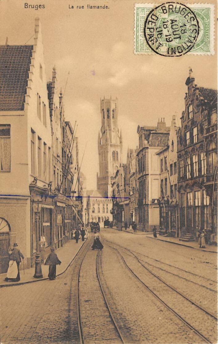 Bruges - La Rue Flamande - Nels Série Bruges N° 107 - Brugge