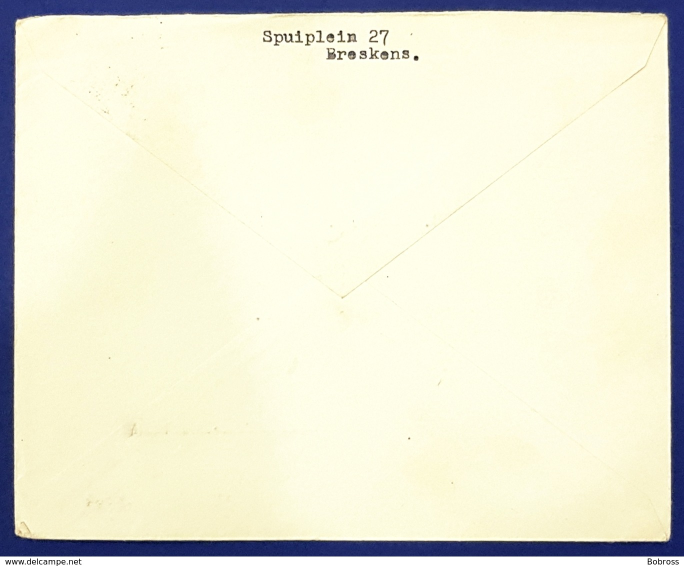 1936 Covers, Breskens - Knocke België, Netherlands, Nederland, Holland - Periodo 1891 – 1948 (Wilhelmina)