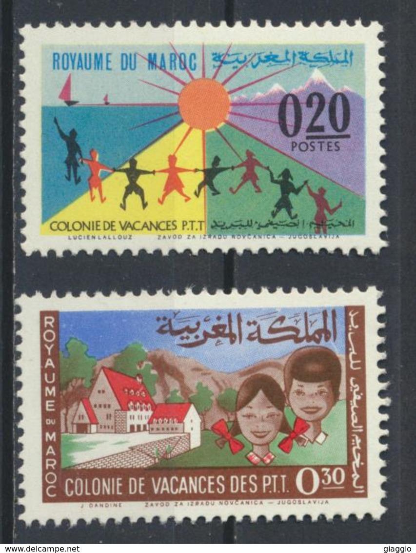 °°° MAROC - Y&T N°474/75 MNH NEUF - 1964 °°° - Marruecos (1956-...)