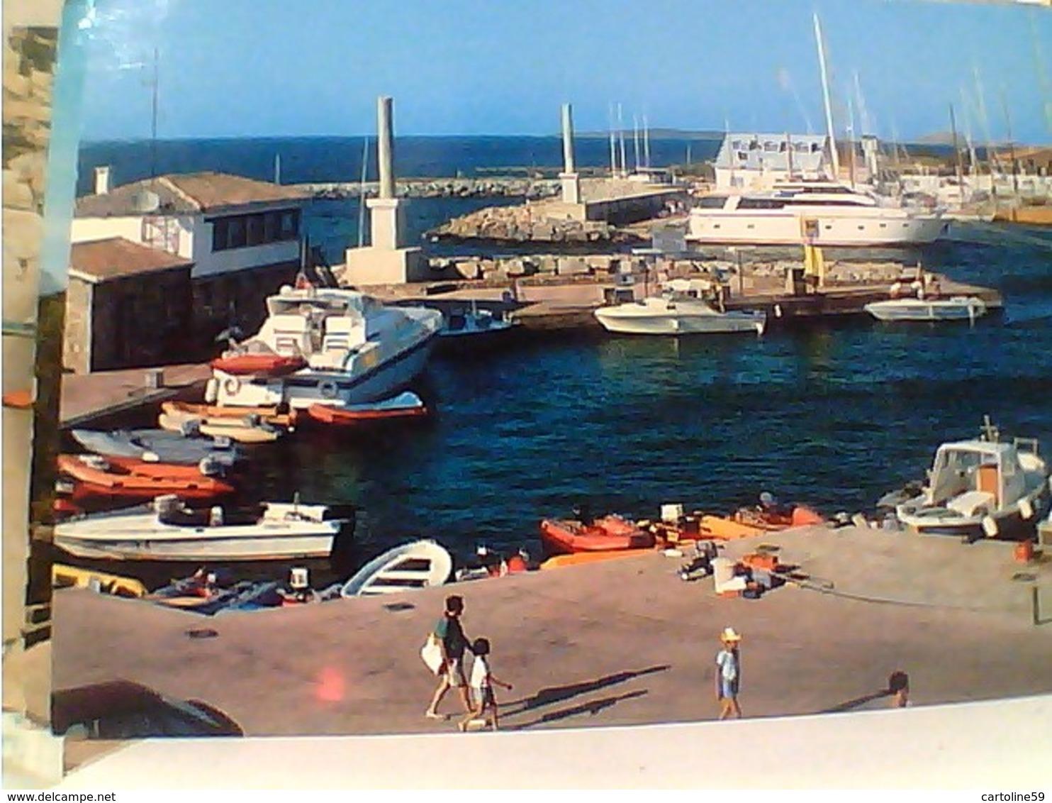 OLBIA PORTO ROTONDO BARCHE MOTOSCAFO  VB1988 HA7340 - Olbia