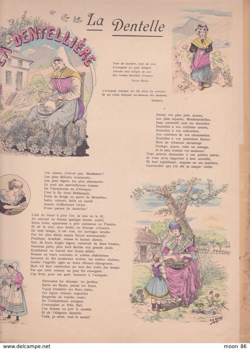 Ancien Livre Illustré PELLERIN - IMAGERIE D'EPINAL - SERIE UNIVERSELLE - LA DENTELLE - LE PERTHUIS  _19eme Siècle - Books, Magazines, Comics