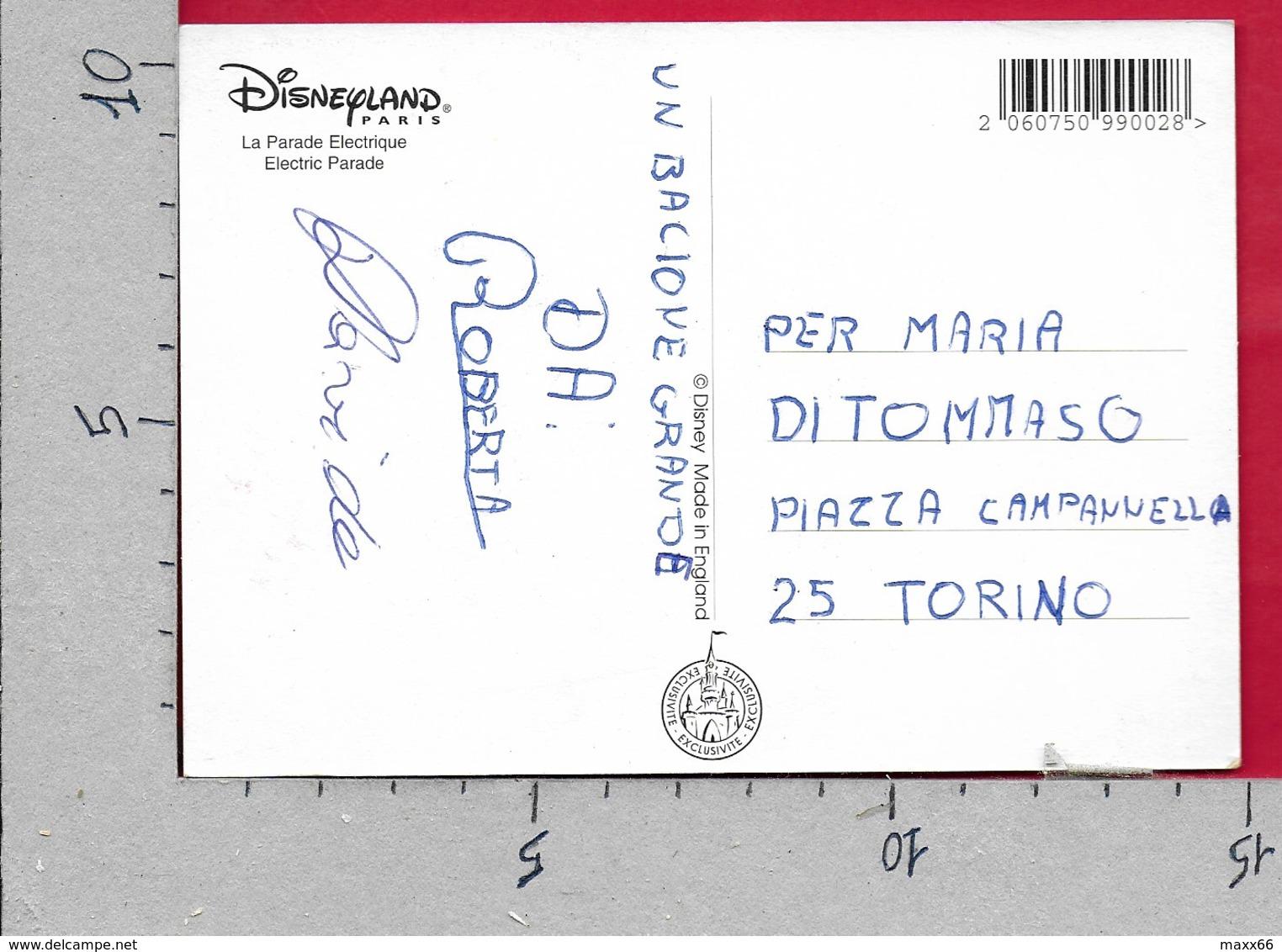 CARTOLINA NV FRANCIA - DISNEYLAND PARIS - La Parade Electrique - 10 X 15 - Disneyland