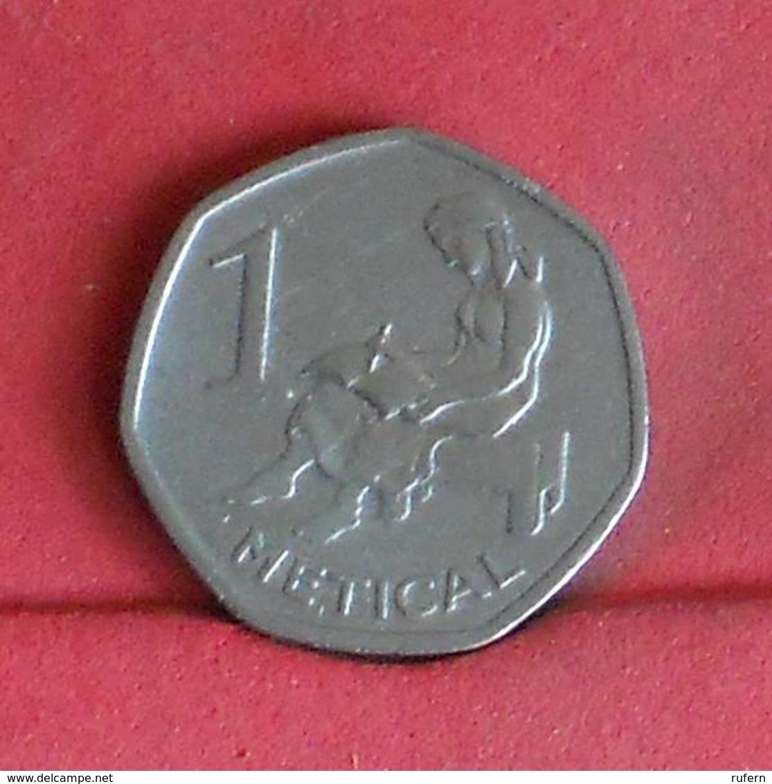 MOZAMBIQUE 1 METICAL 2006 -    KM# 137 - (Nº27286) - Mozambique