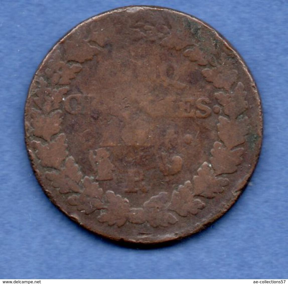 Dupré / 5 Centimes An 5 R / B - 1789-1795 Period: Revolution