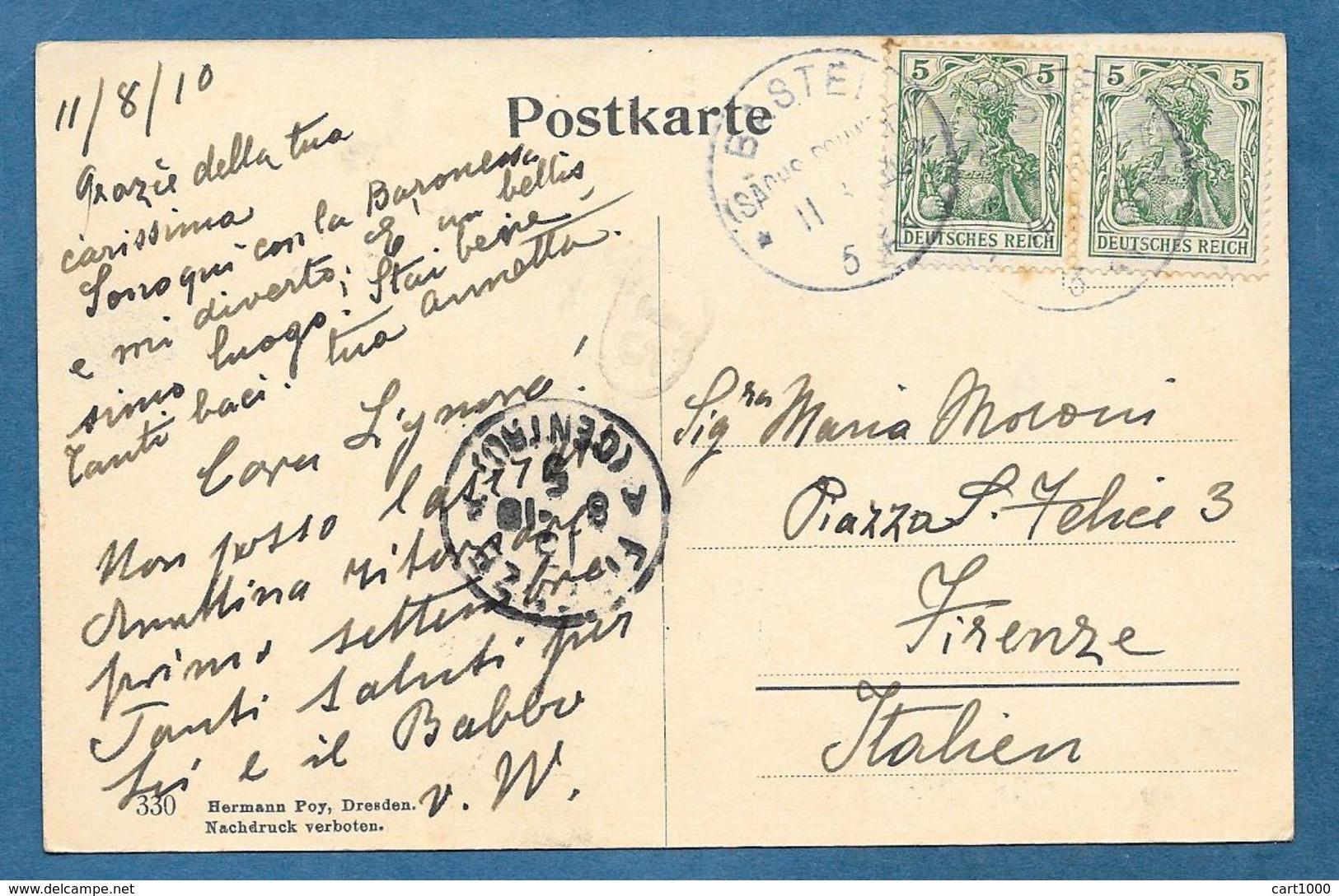 BASTEIBRUCKE 1910 - Dresden