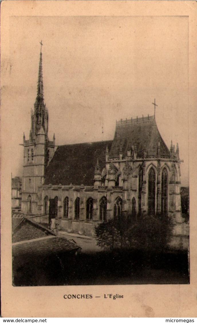 27 - CONCHES - L'Eglise - Conches-en-Ouche