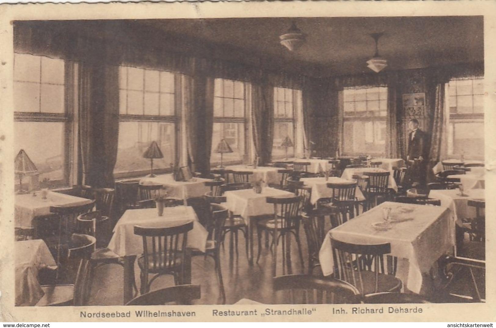 """Wilhelmshaven,Restaurant """"Strandhalle"""" Ngl #F8612 - Sin Clasificación"""