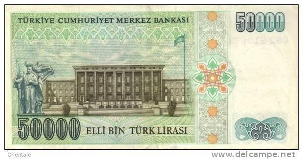 TURKEY P. 203a 50000 L 1989 UNC - Turquie