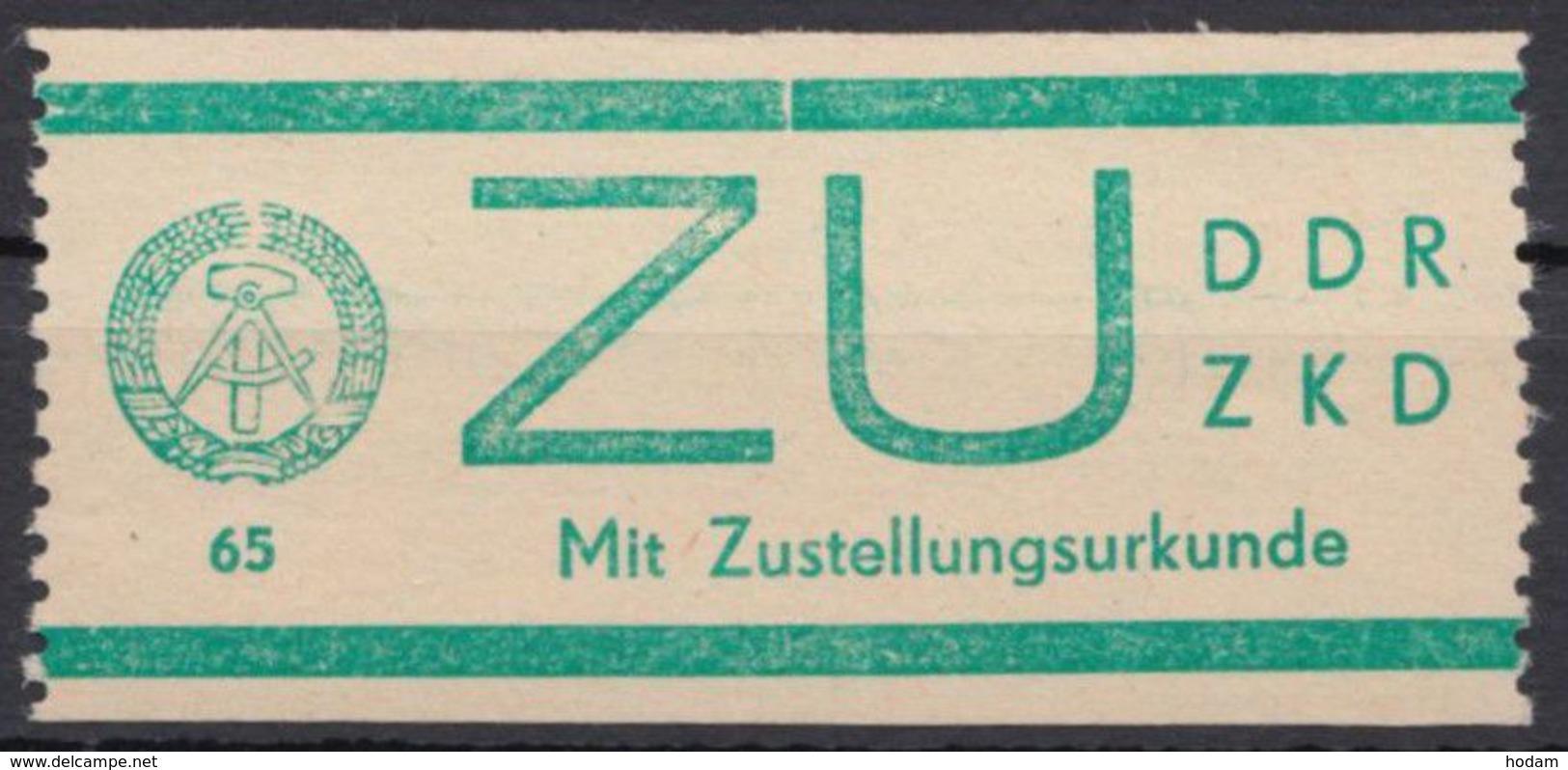ZKD : ZU 1, Gut Gezähnt, ** - Dienstpost