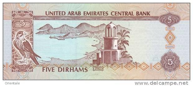 U.A.E. P. 19d 5 D 2007 UNC - Emirats Arabes Unis