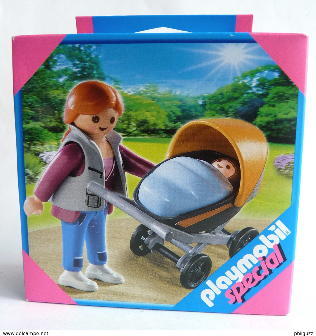 PLAYMOBIL SPECIAL BOITE NEUVE 4756 FEMME POUCETTE ET BEBE - Playmobil