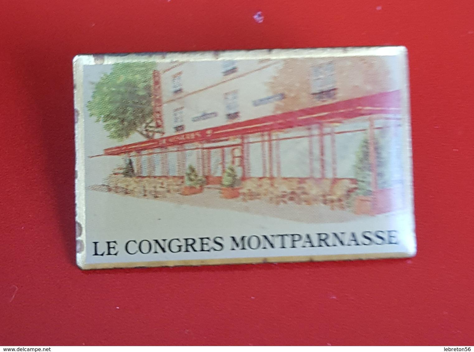 Pin's  Bar Resto:Le Congrès Montparnasse   Super   Voir  Photo - Food