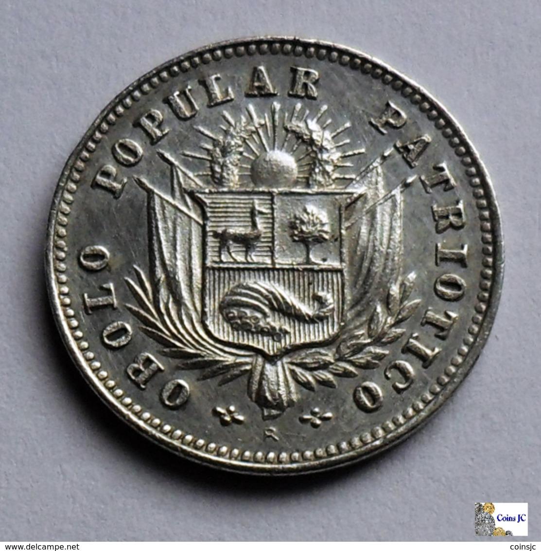 Perú - 1 Sol - 1910 - Rare - Perú