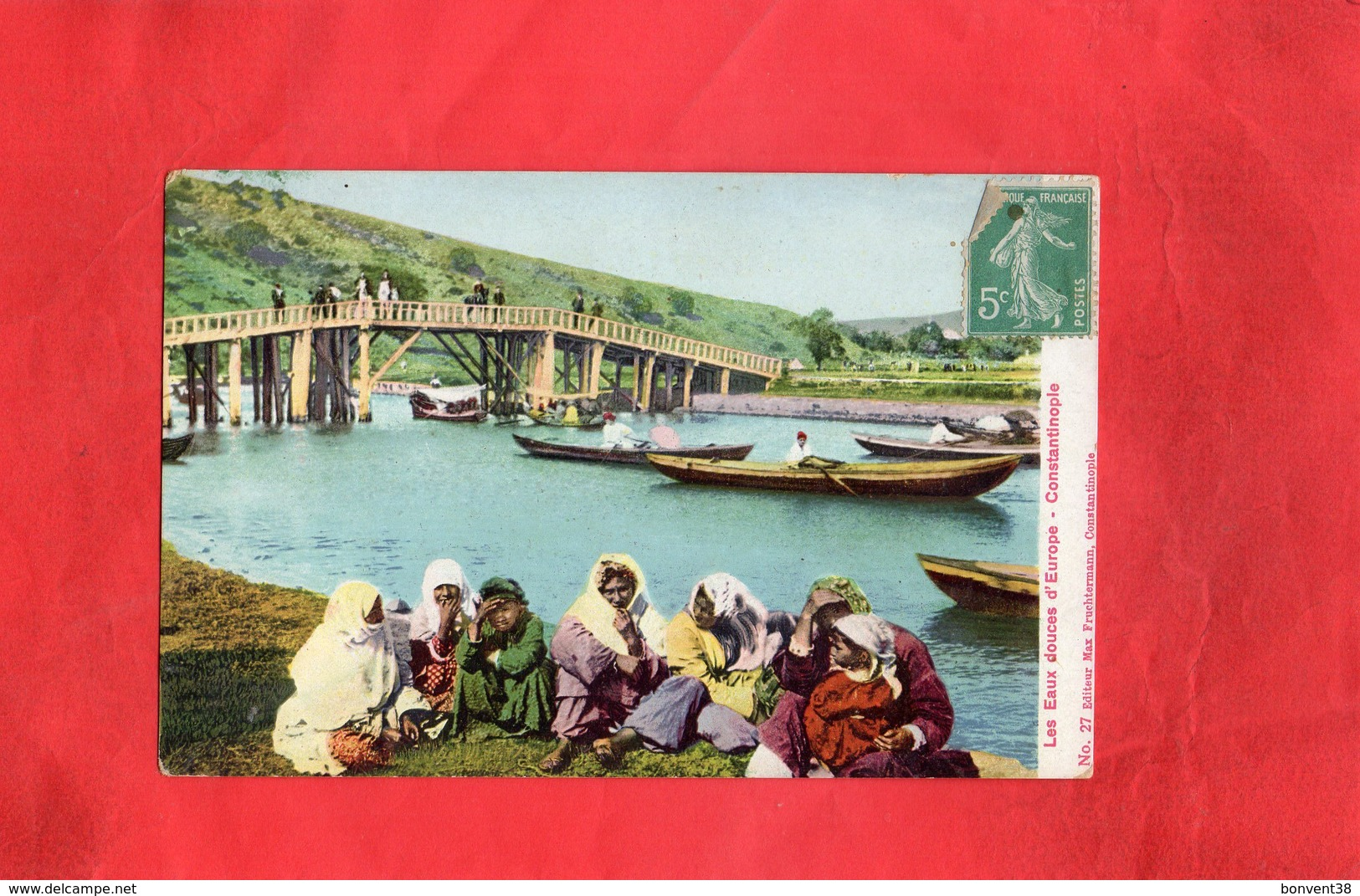 F1701 - Les Eaux Douces D'Europe - Constantinople - Cartes Postales