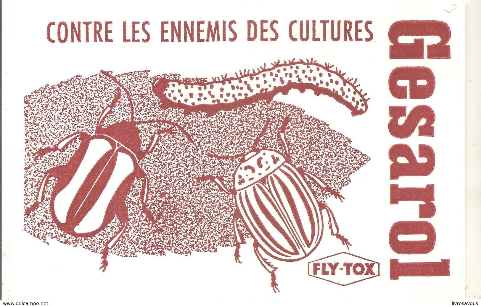 Buvard Gesarol Contre Les Ennemis Des Cultures - Agriculture