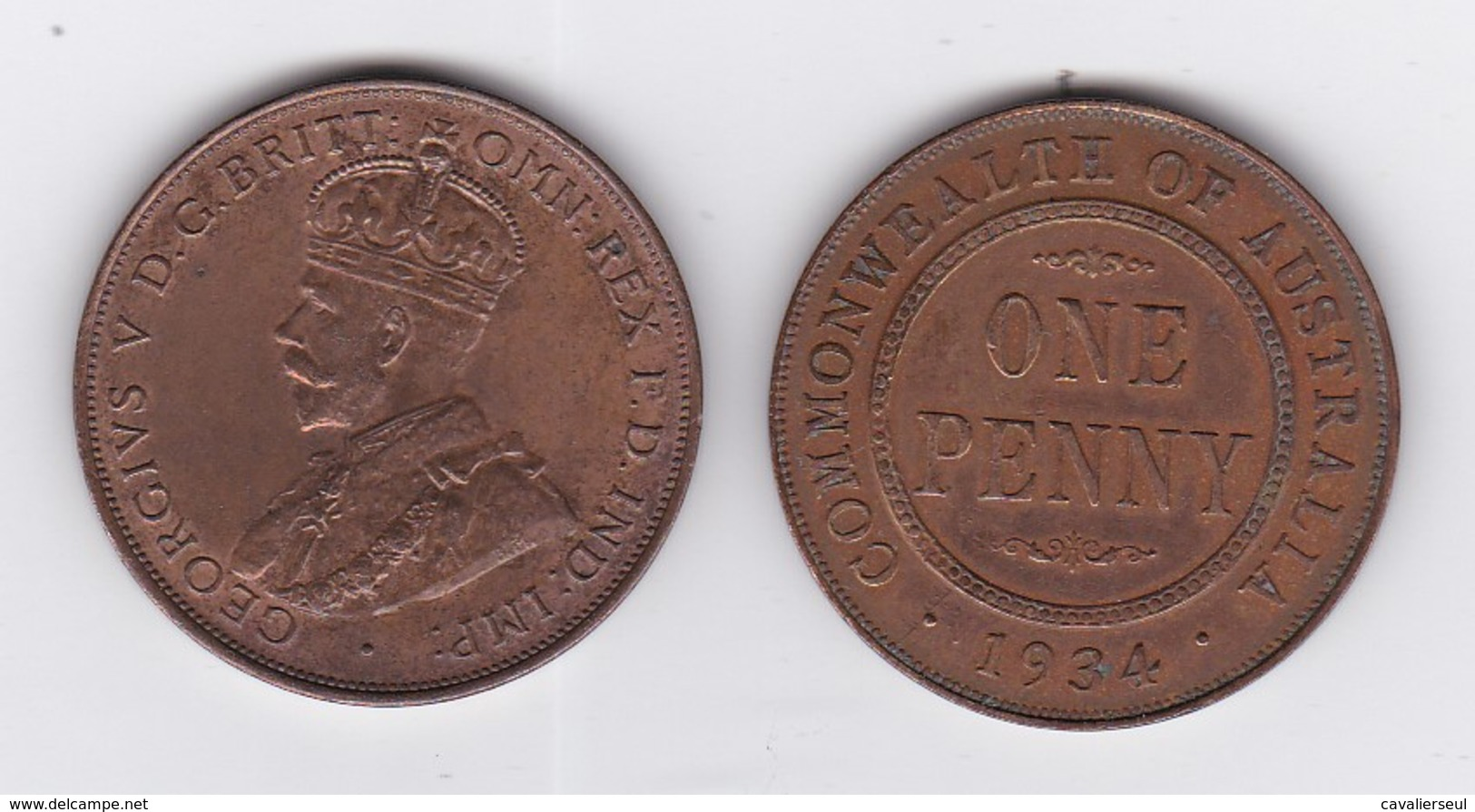 "12 ""PENNY""  GEORGE V - Années 1914,15x2,16,18,19,20,21,22,23,33,34 - Penny"