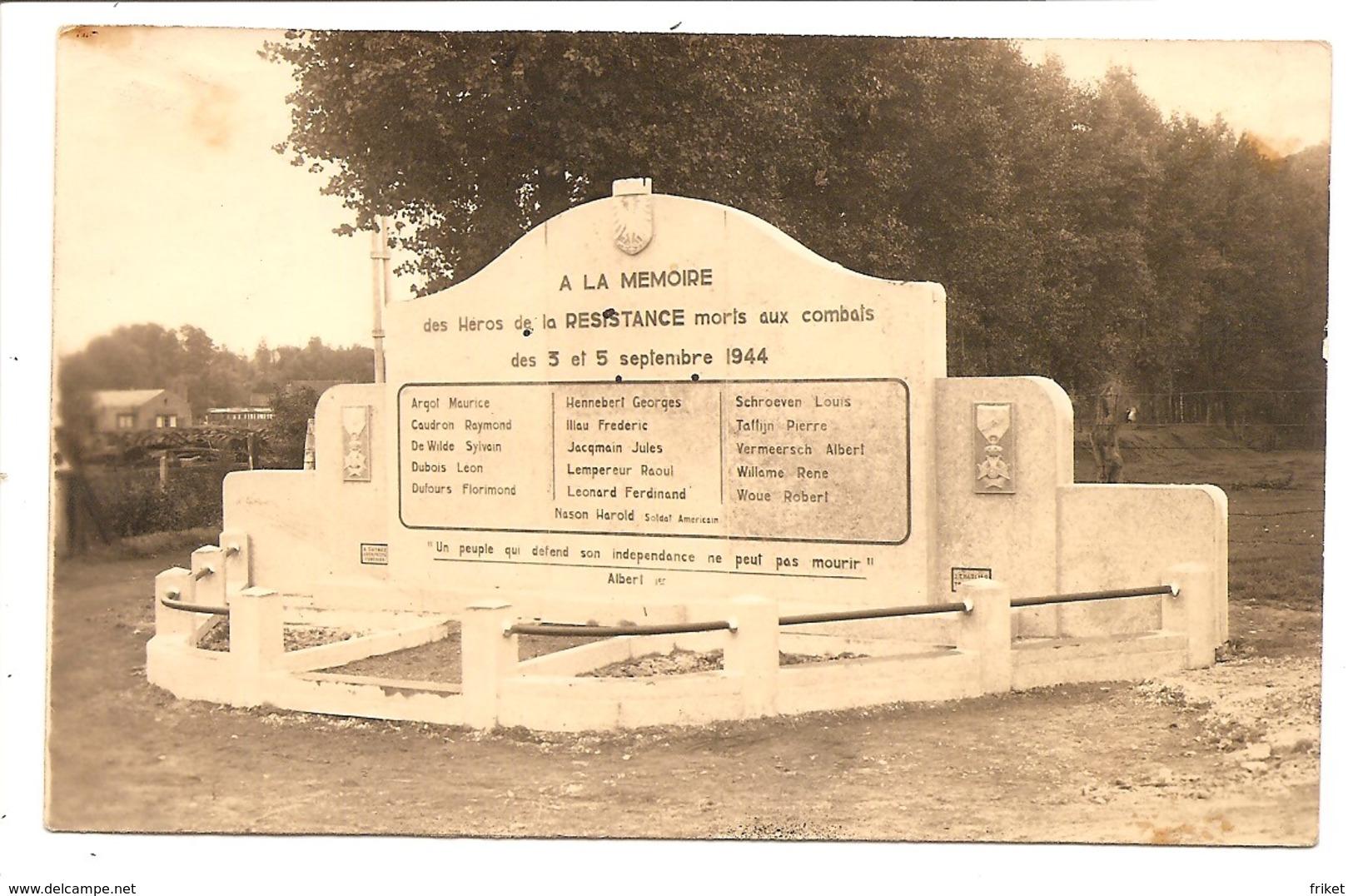FONTAINE   L EVEQUE   Photo Carte - Fontaine-l'Evêque