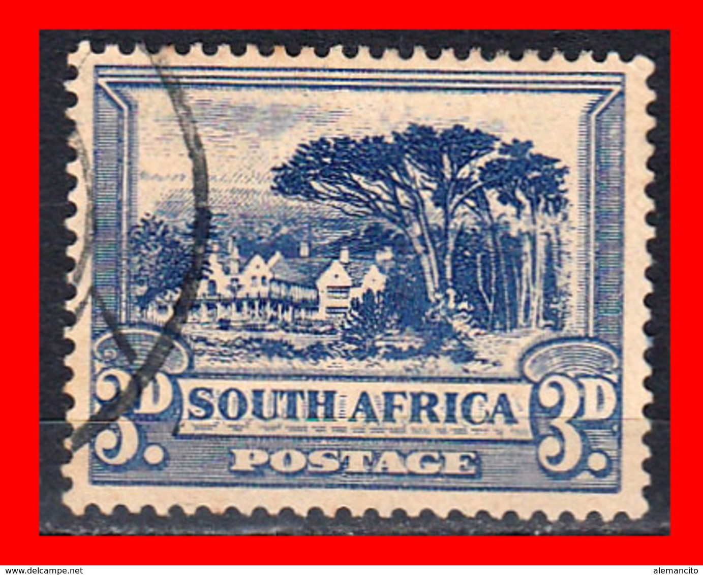 SOUTH AFRICA SELLO AÑO 1927-28  SINGLE, SOUTH - Oficiales