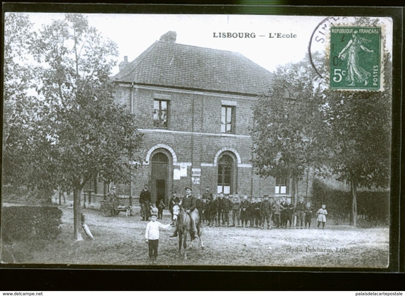 LISBOURG ECOLE           JLM - France