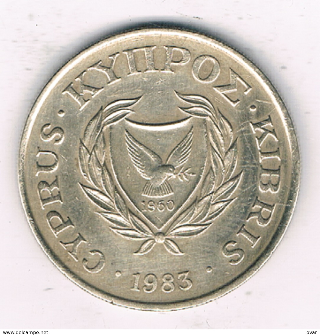 20 CENT 1983 CYPRUS /0456/ - Chypre