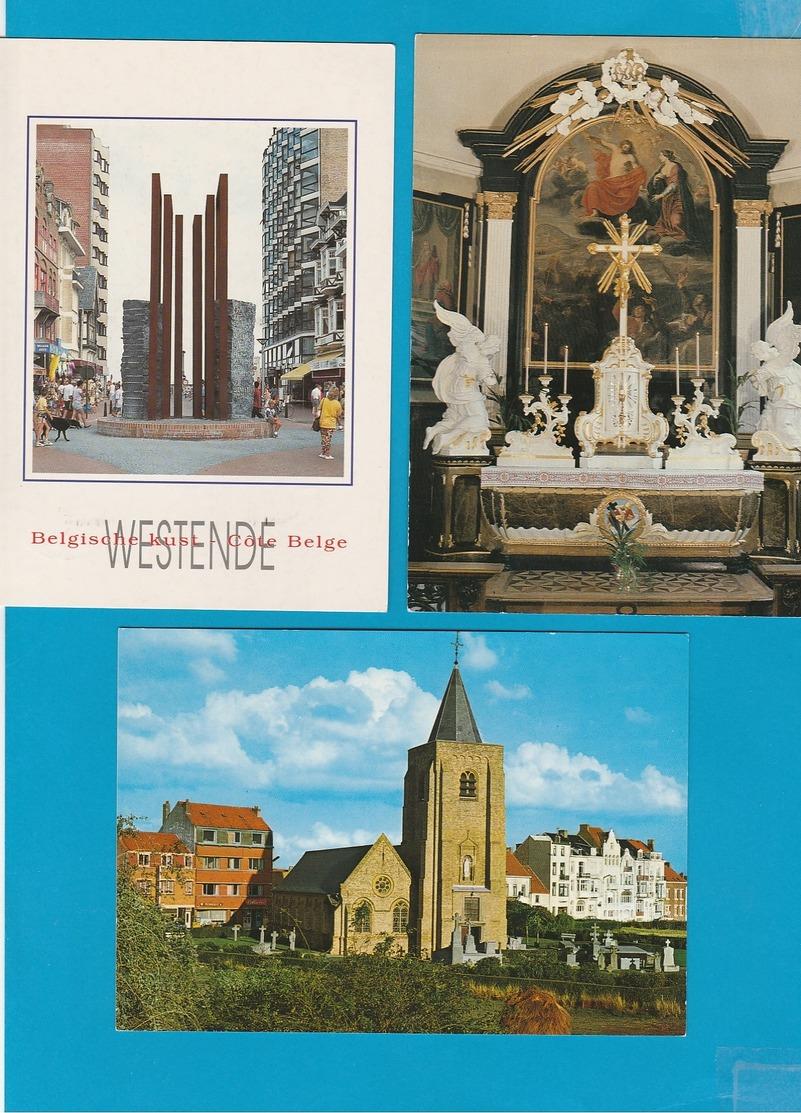 BELGIË Oostduinkerke, Lomardsijde, Westende, Middelkerke, Mariakerke Lot Van 67 Postkaarten. - Cartes Postales
