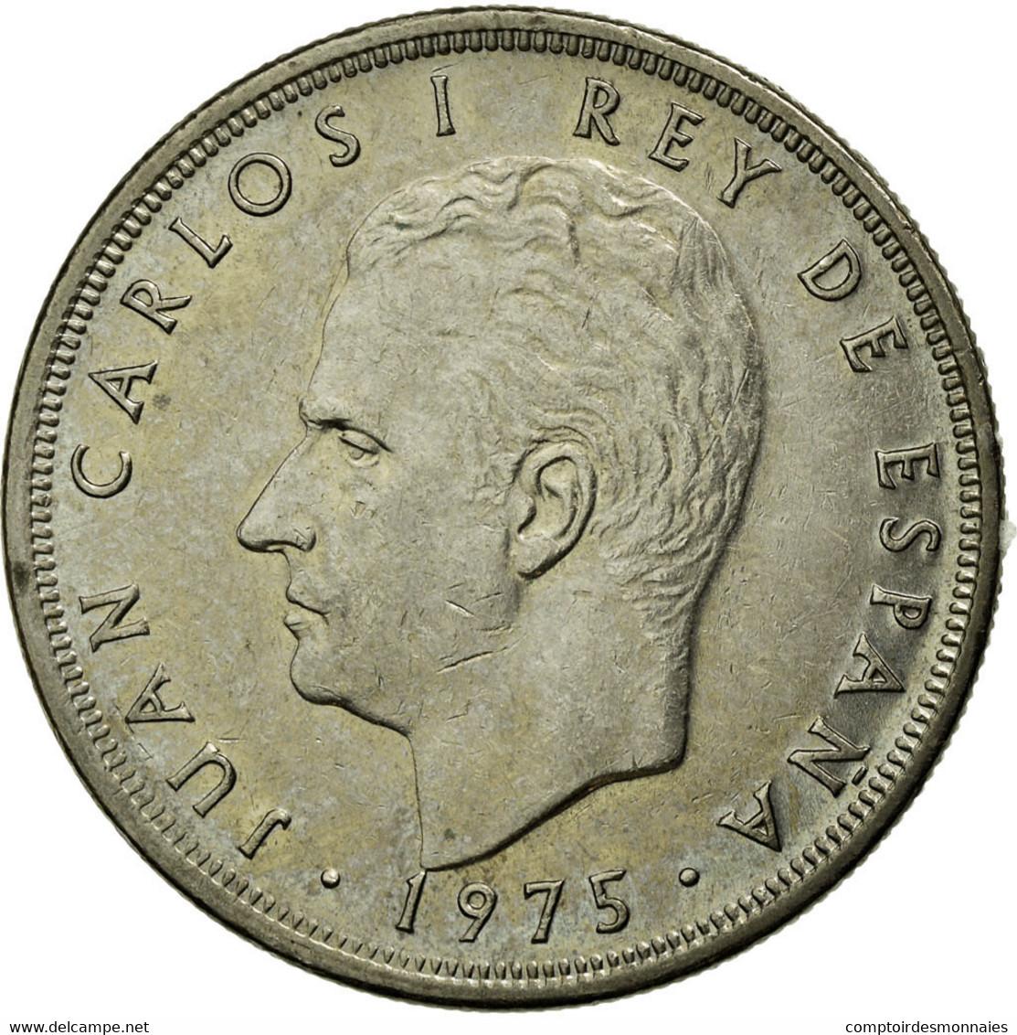 Monnaie, Espagne, Juan Carlos I, 5 Pesetas, 1977, TB+, Copper-nickel, KM:807 - [ 5] 1949-… : Royaume