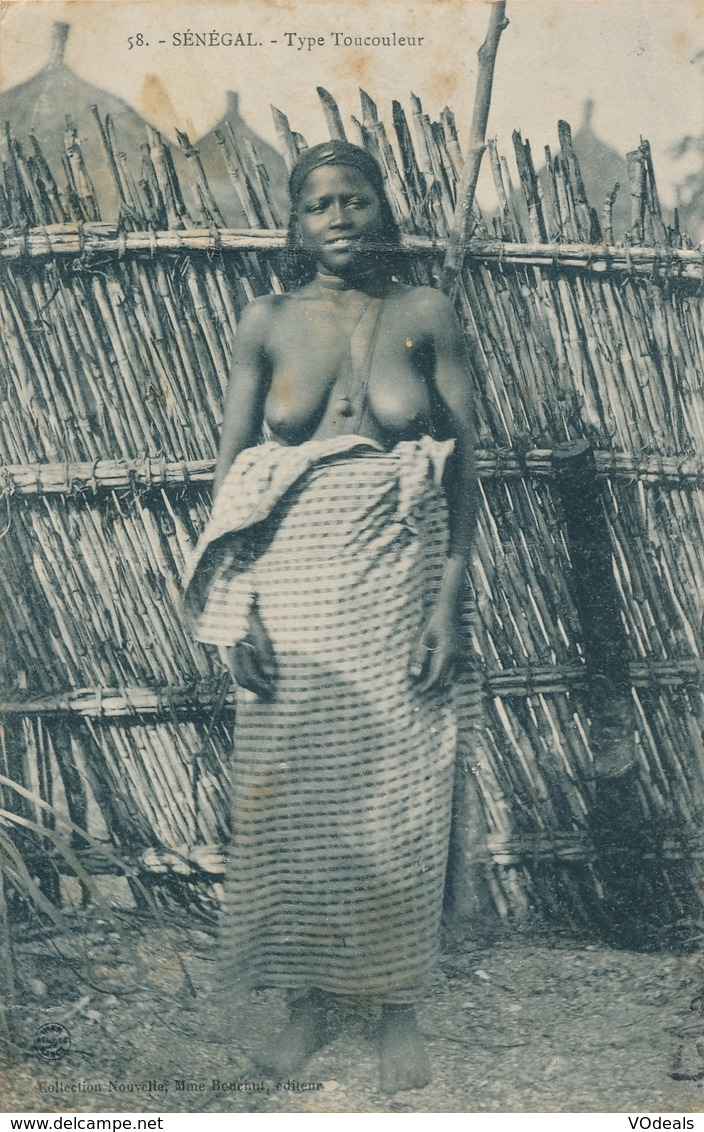 CPA - Afrique - Sénégal - Type Toucouleur - Sénégal