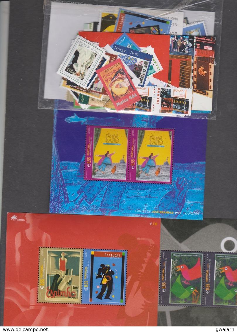 EUROPA CEPT - Année 2003 Complète - 58 Pays - 97 T + 5 BF - L'art De L'affiche - Europa-CEPT