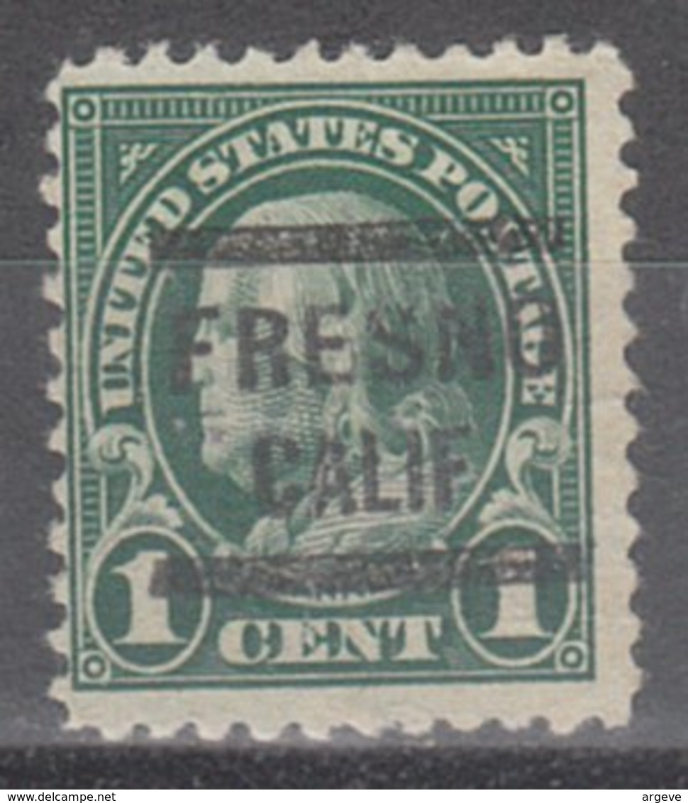 USA Precancel Vorausentwertung Preo, Locals California, Fresno 552-564 - Vereinigte Staaten