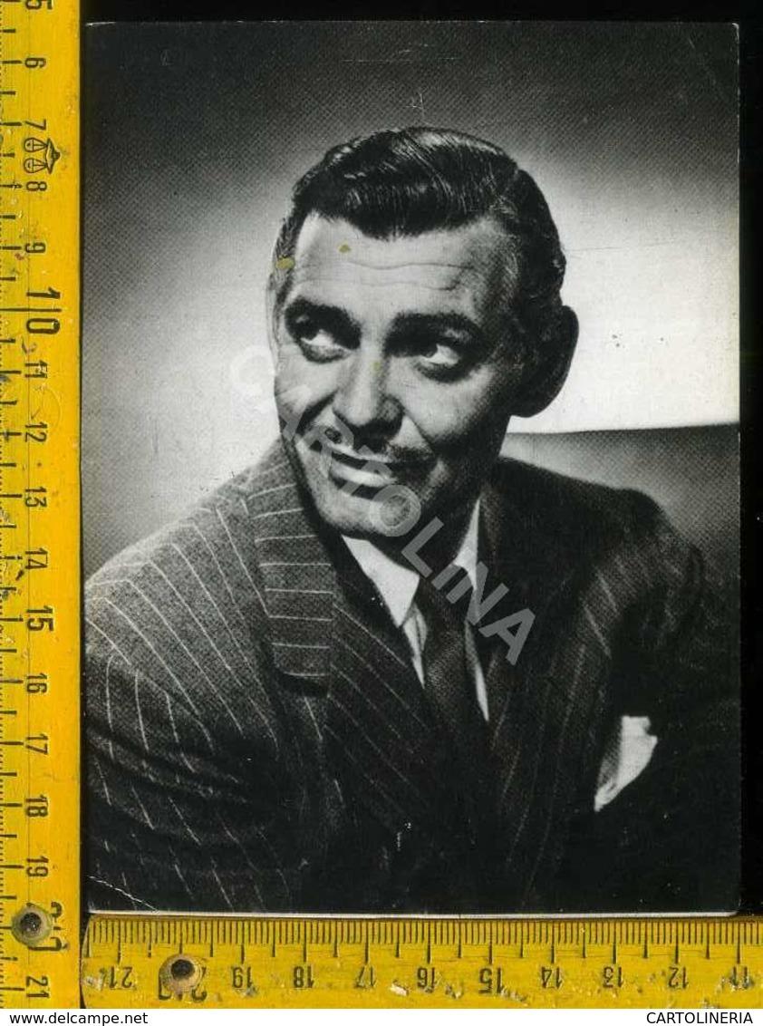 Personaggio Attore Attrice Cantante Musica Teatro Danza Cinema Clark Gable - Artisti