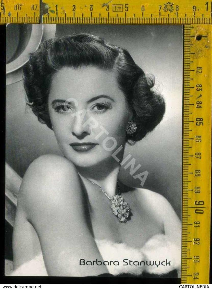 Personaggio Attore Attrice Cantante Musica Teatro Danza Cinema Barbara Stanwyck - Artisti