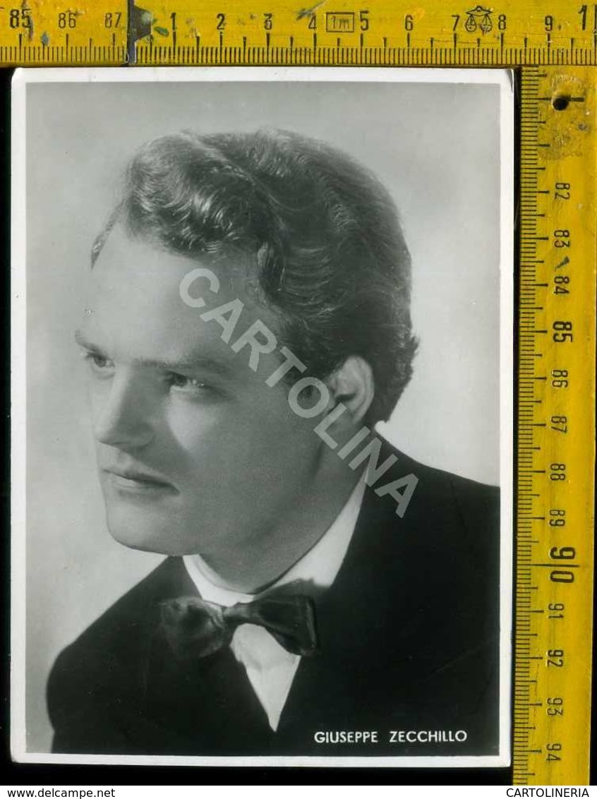 Personaggio Attore Attrice Cantante Musica Teatro Danza Cinema Giuseppe Zecchillo - Artisti