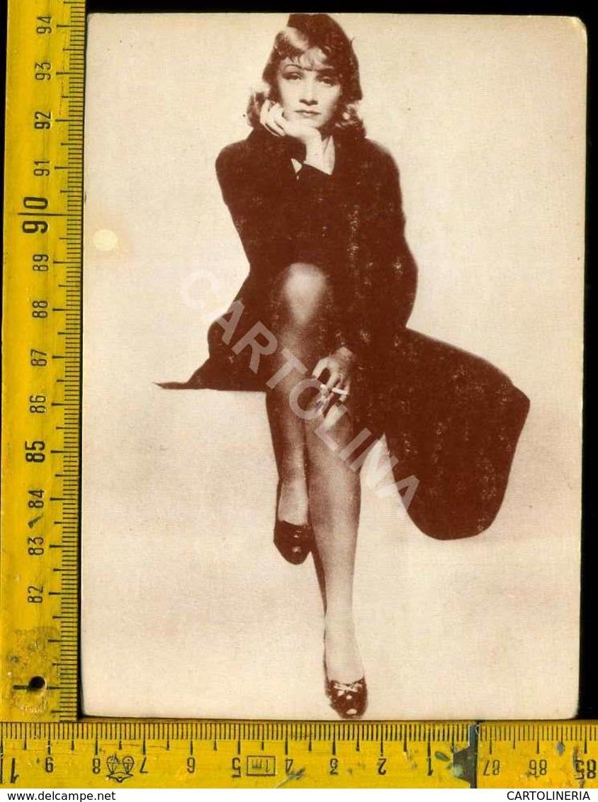 Personaggio Attore Attrice Cantante Musica Teatro Danza Cinema Marlene Dietrich - Artisti